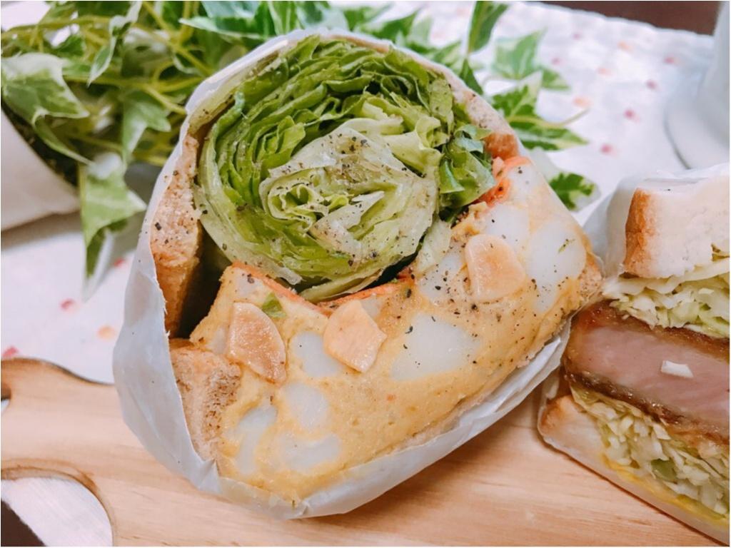 【萌え断サンド】まるで野菜ブーケ!ボリューム満点《POTASTA(ポタスタ)》のサンドイッチが美味しすぎる♡♡_4