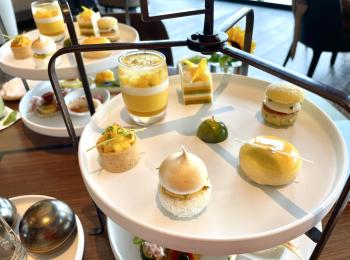 とろける甘さ…フォーシーズンズホテル東京のマンゴーアフタヌーンティー