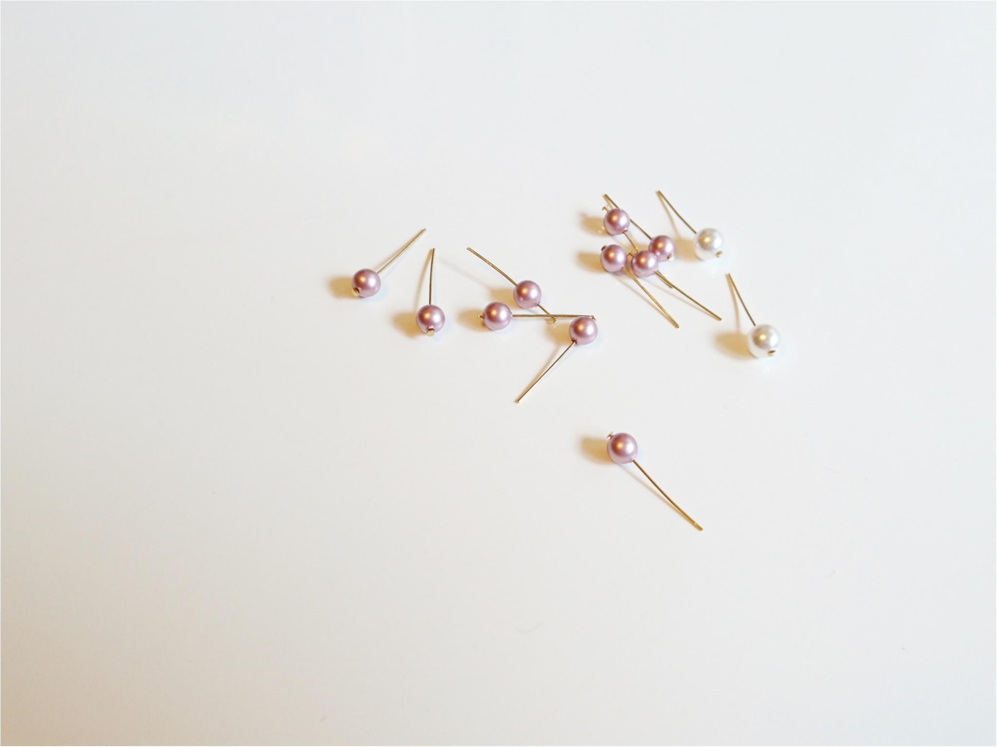 【ハンドメイド】簡単!手作りアクセサリー ~大人可愛いピアス編~_3