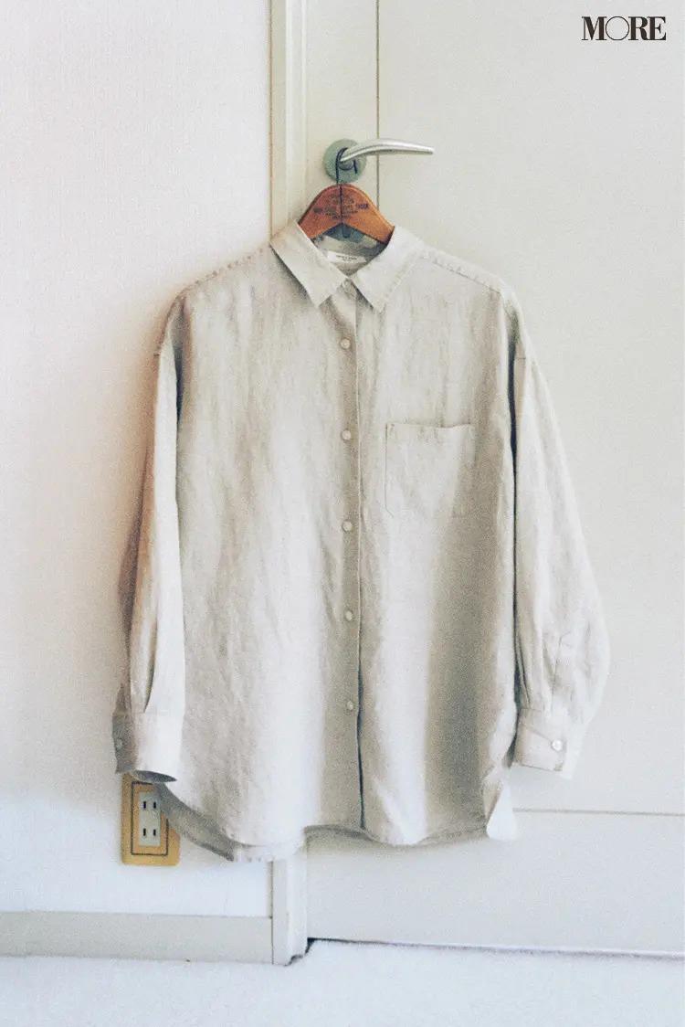 ナチュラルタイプに似合うフリークスストアのシャツ