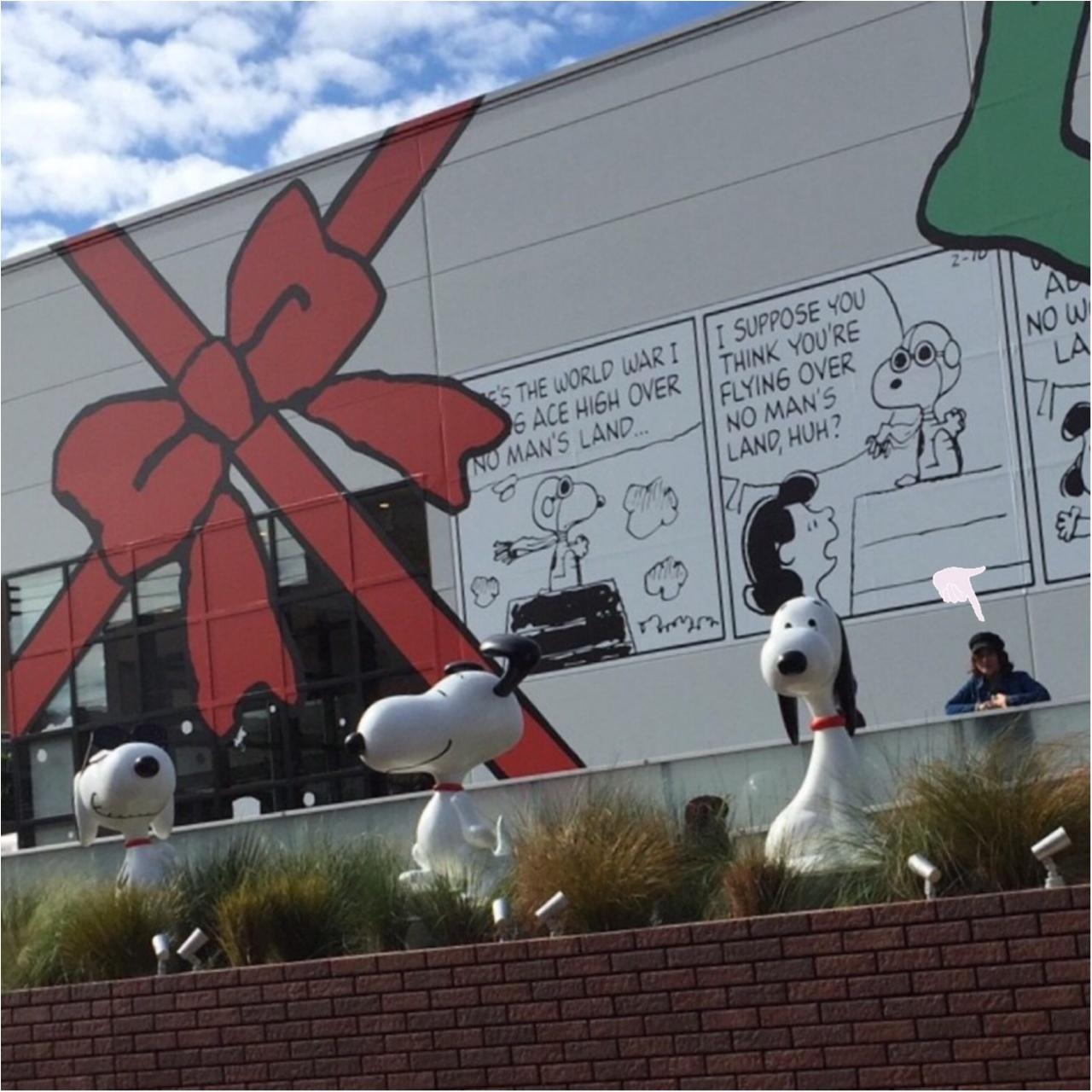 SNOOPY MUSEUM TOKYO で一足早いクリスマス気分♩_1