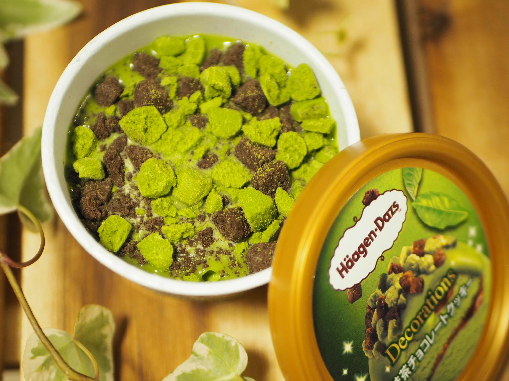 【おすすめ抹茶スイーツ】ハーゲンダッツ新商品!Decorations『抹茶チョコレートクッキー』❤︎_3