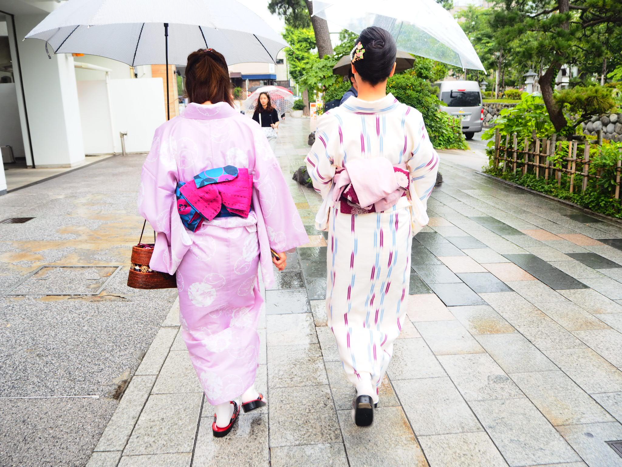 夏着物で鎌倉女子旅♡  紫陽花がとっても綺麗でした♡_17