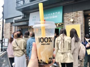 大阪で大行列の生タピオカ専門店『モッチャム』が原宿に期間限定オープン!!