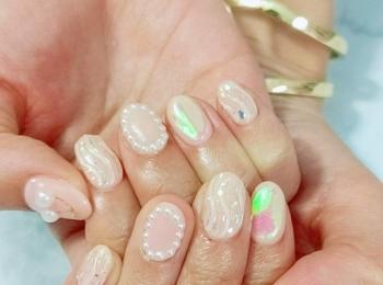 【夏ネイルデザイン】ピンク×ミラーネイルで、憂鬱な梅雨も吹っ飛ばす!!