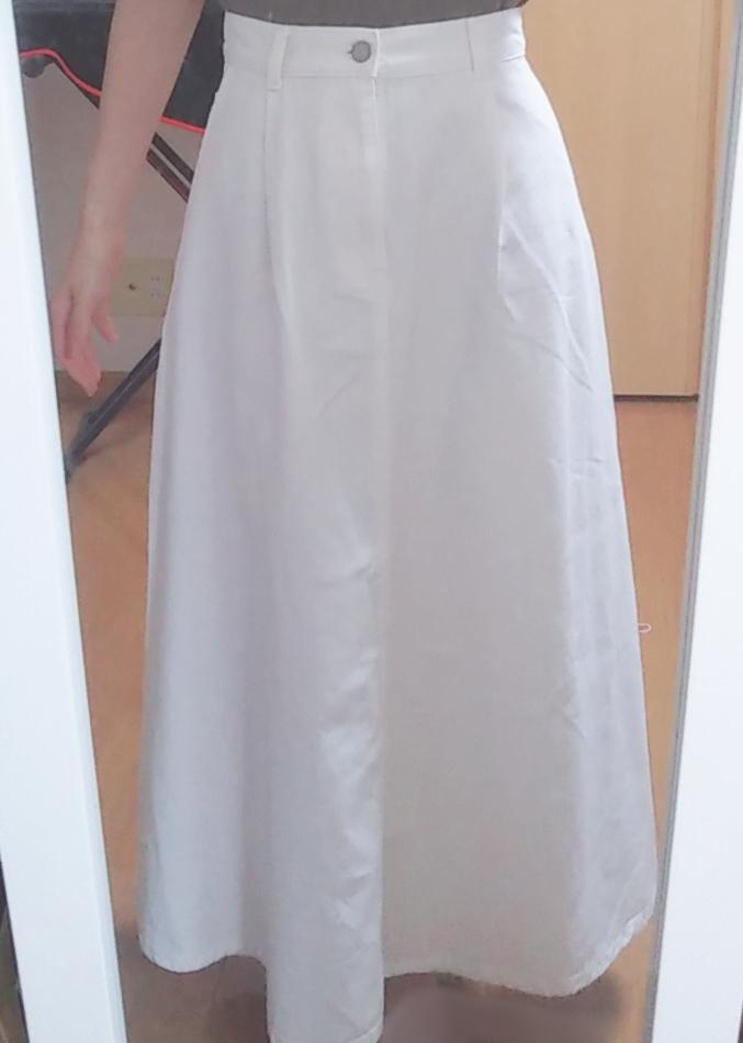 """【GU】夏のイベントもこれでOK?♥「デニムフレアマキシスカート」で""""おとなかわいい""""コーデ(*´ェ`*)_1"""
