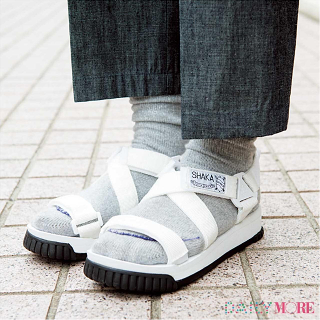 おしゃれさんは何はいてるの?足もと上手さんの靴下の選び方&はき方(2)_2