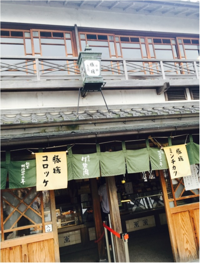 【夏季限定★赤福氷知ってる?】伊勢神宮のおかげ横丁で食べ歩き♡_8