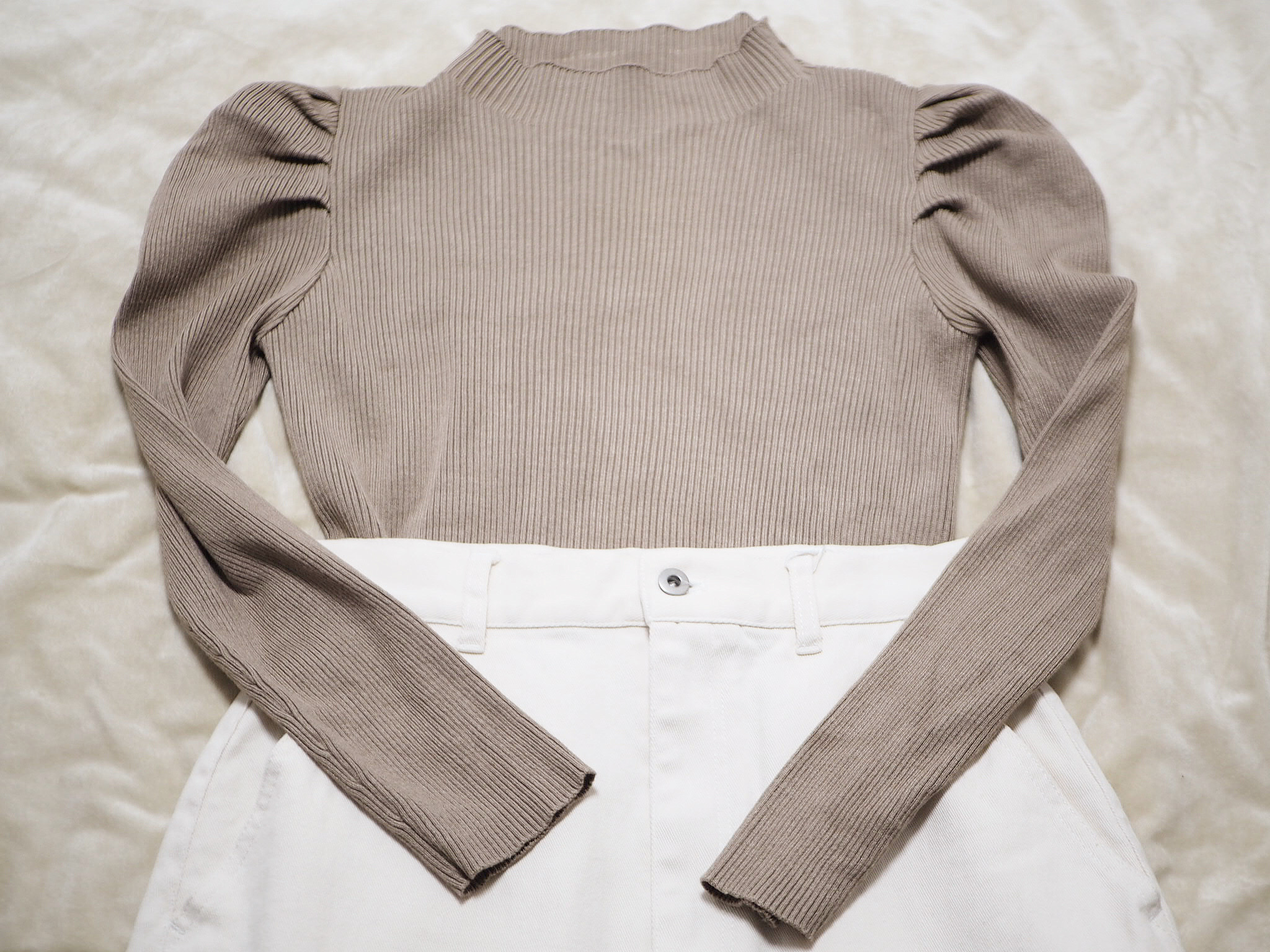 春コーデの救世主!【アーバンリサーチ】の《ホワイトデニムのタイトスカート》❃❃❃_5