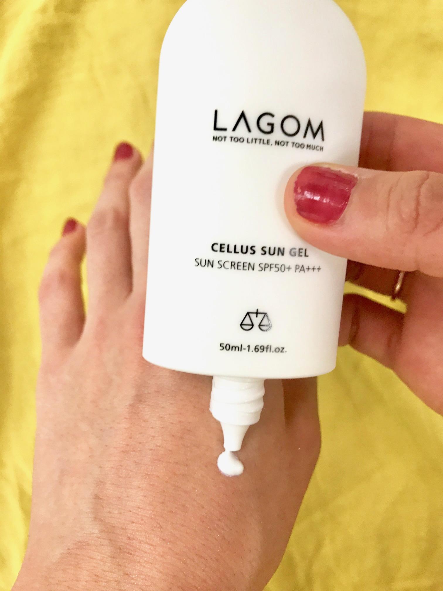 韓国コスメ『LAGOM(ラゴム)』の日焼け止め乳液「サンジェル」が、良すぎるから試してほしい件。_2