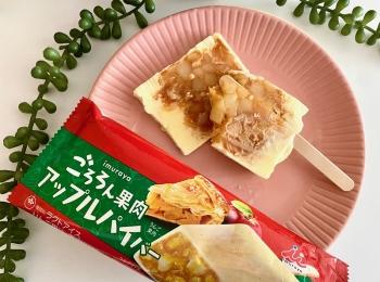 『井村屋』の「ごろろん果肉 アップルパイバー」が買えるのはここ! シナモン香る満足のおいしさ