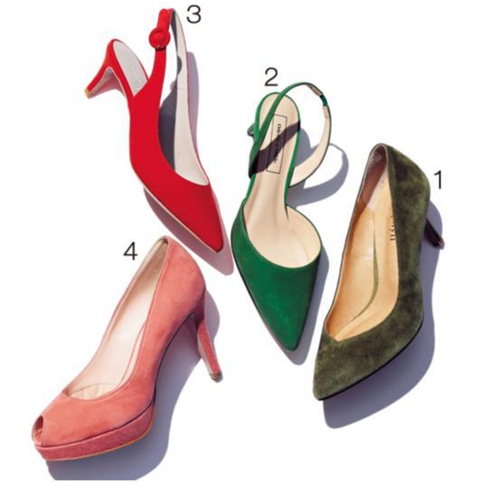 おしゃれな人がこの春最初に履きたい靴【レースアップ&スウェードパンプス】_3