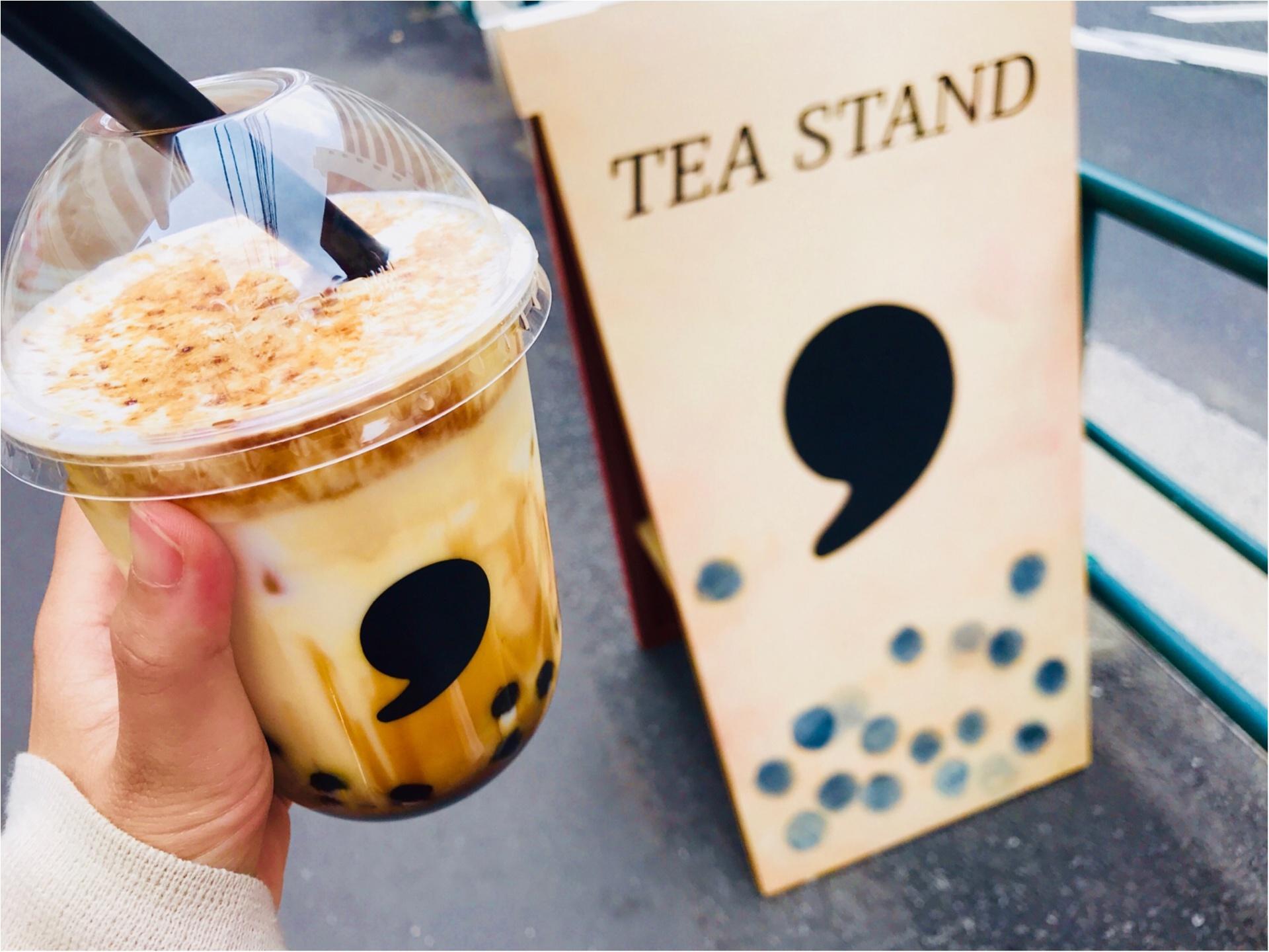 【コンマティー(comma tea)】日本初!《焦がし黒糖タピオカラテ》が絶品なんです♡_1