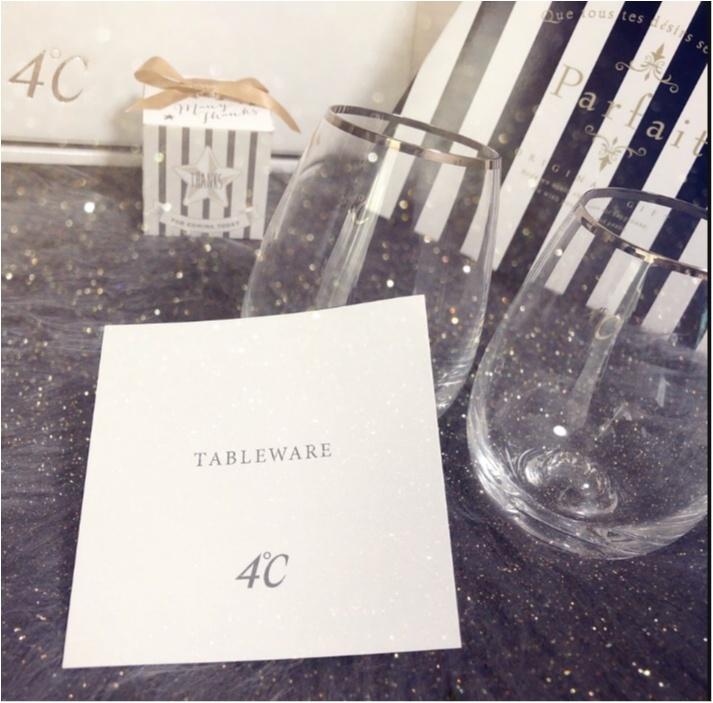 【ブライダルフェア】お得なことがいっぱいなの知ってる??あの有名なアクセサリーブランドのグラスを来店特典でもらっちゃいました♥︎他にも、嬉しいサービスが…♡♡_3
