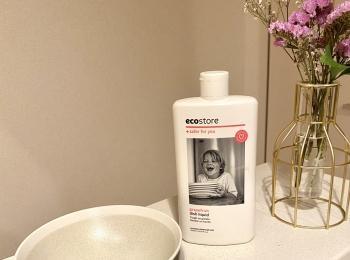 【わたしのサステナブルライフ】地球にもお肌にも優しいecostoreの食器用洗剤