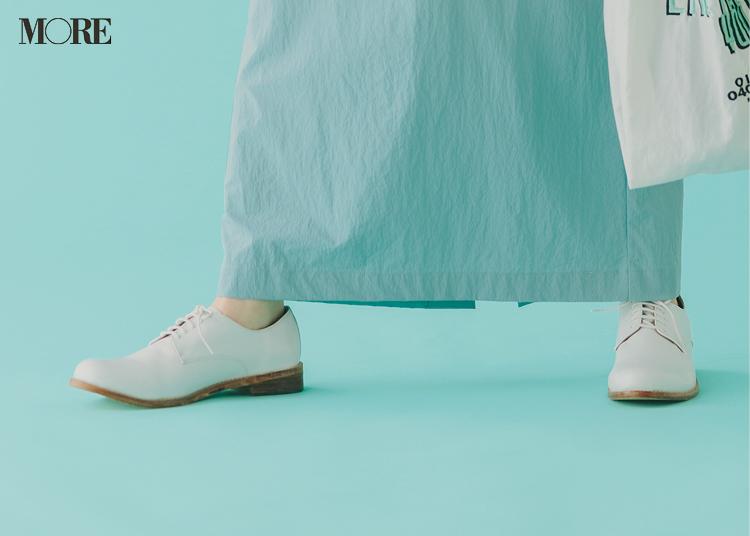 白いおじ靴
