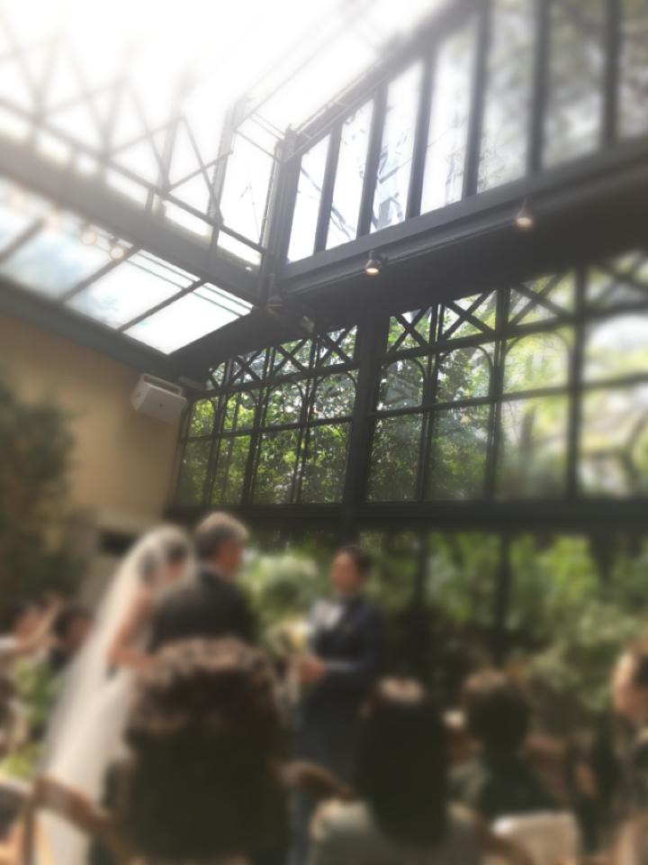 代官山ASOでレストランWedding!結婚式のドレスは★黒★でキマリ!_4