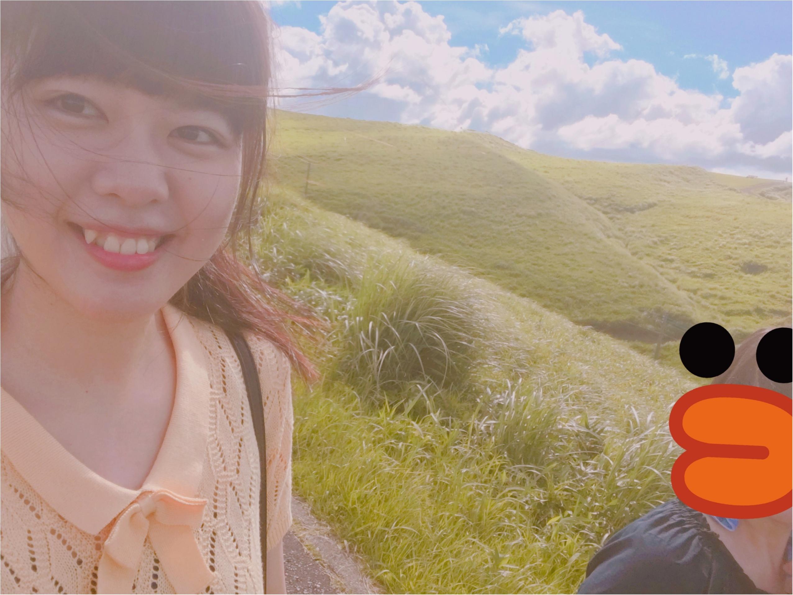 【初動画で紹介!】まるでジブリの世界!晴れた『阿蘇』の絶景を観てください!【#モアチャレ 熊本の魅力発信!】 _8
