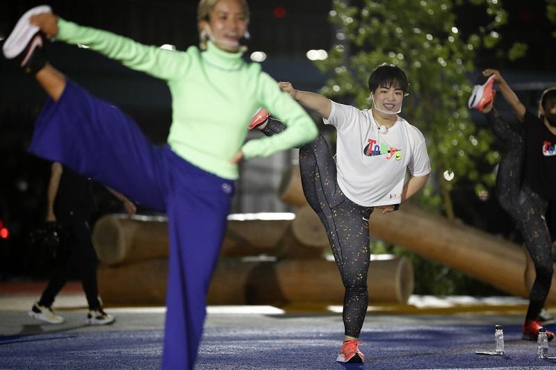 ゆりやんレトリィバァとワークアウト体験! 最新スポット『ナイキ』のスポーツパーク「TOKYO SPORT PLAYGROUND SPORT × ART」レポ☆_4