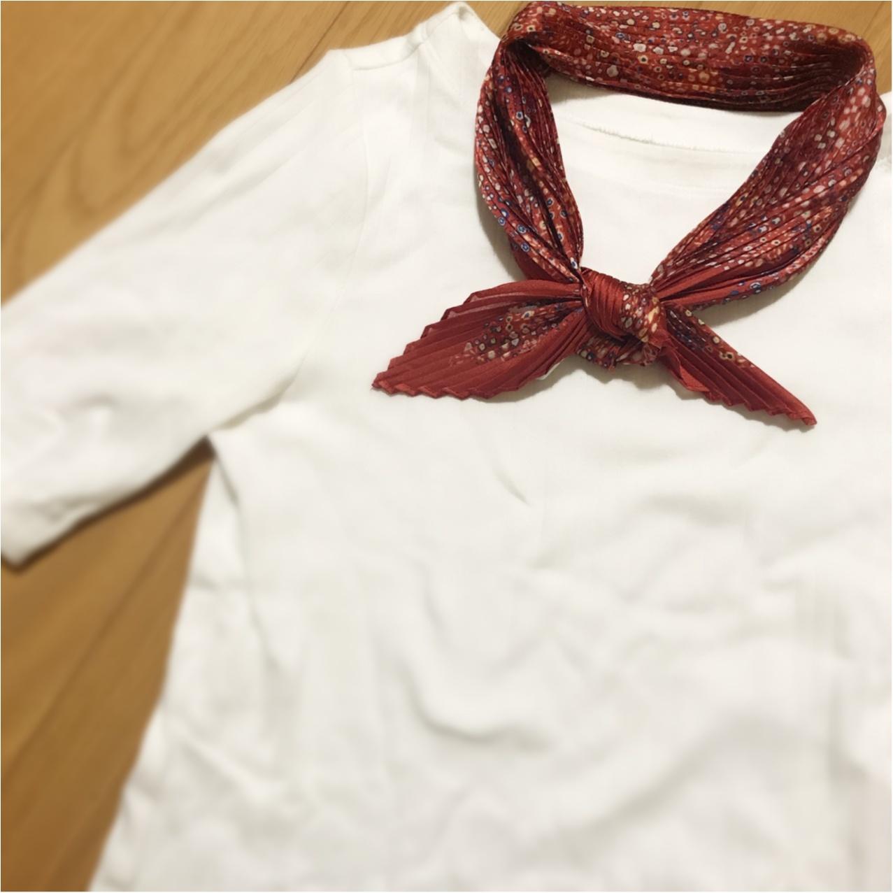 【5/18まで!】ユニクロの使える《スカーフ》がワンコイン価格っ♡_2