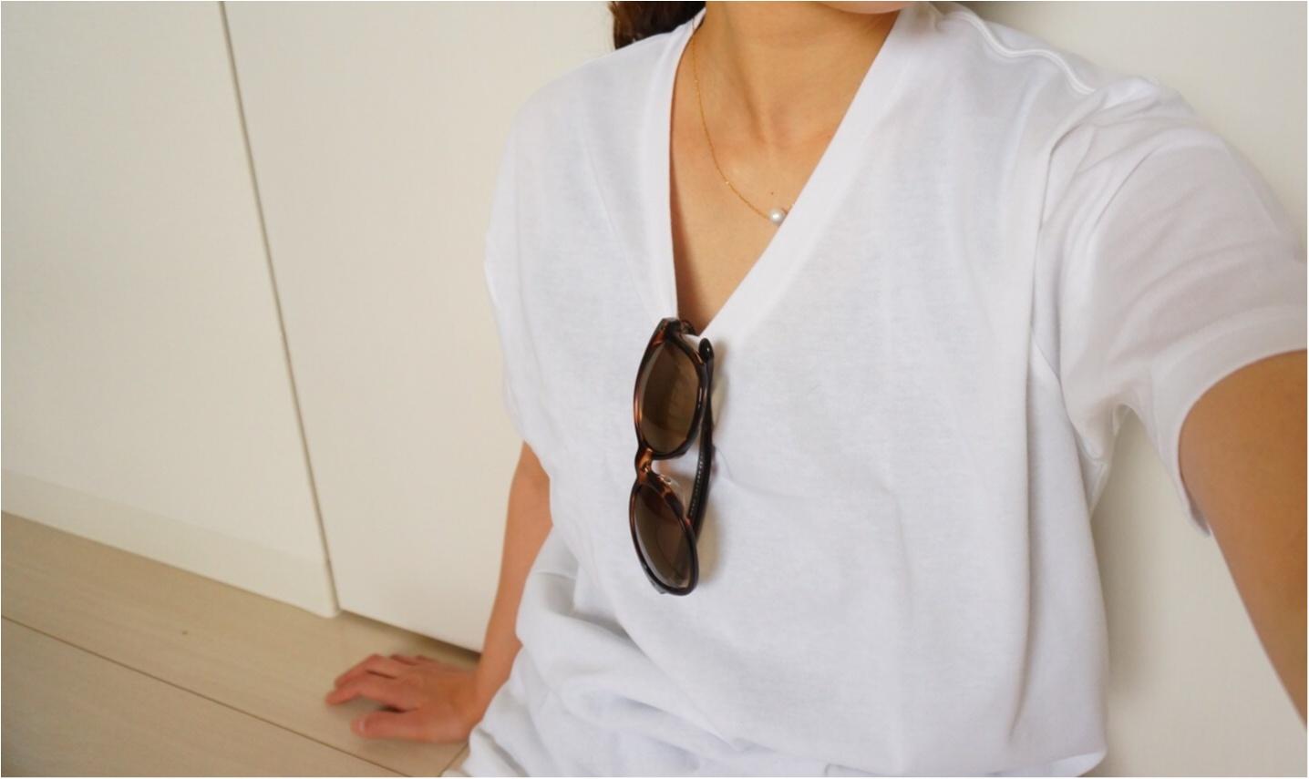 【MORE7月号】この夏白Tシャツは3枚必要‼︎まずは大人気UNIQLOパックTをゲット❤️_2
