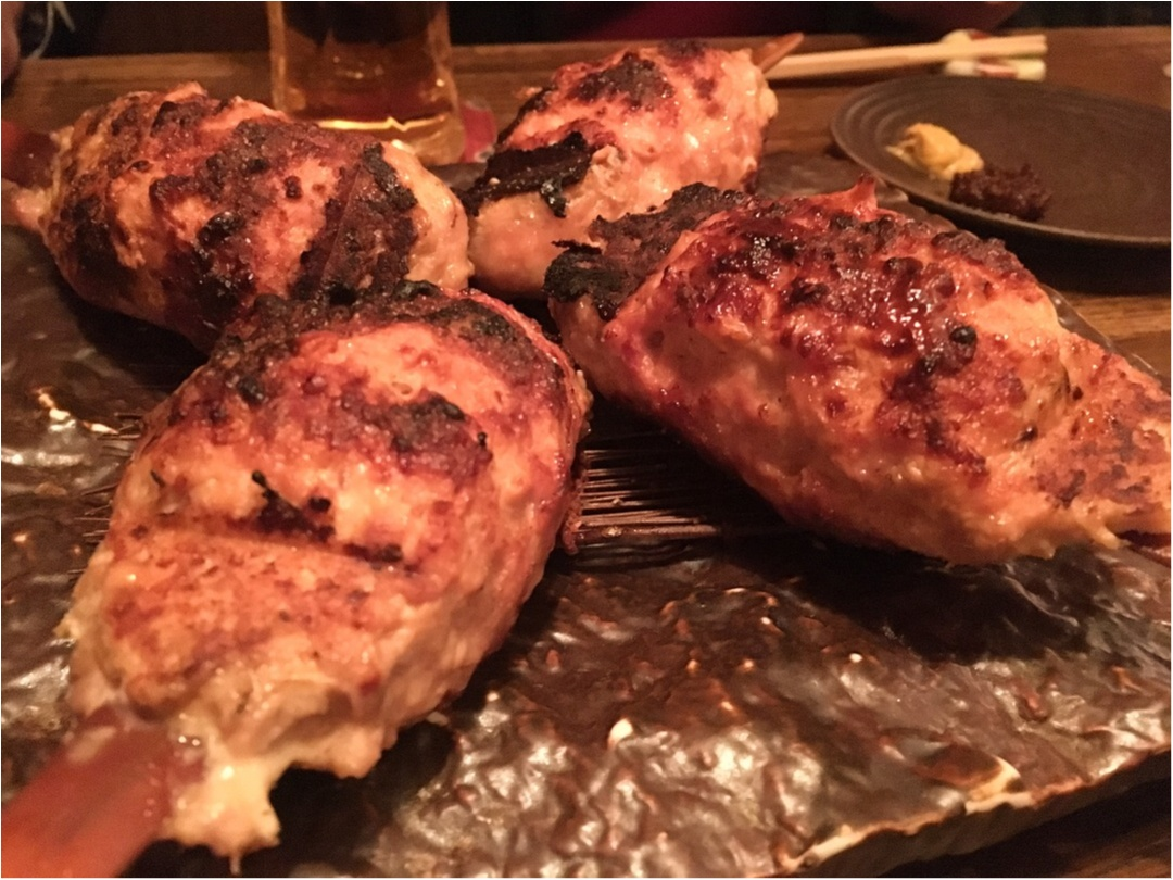 焼き鳥屋さんででてくる〆の炭火焼きトーストonカルピスバターに惚れた_1