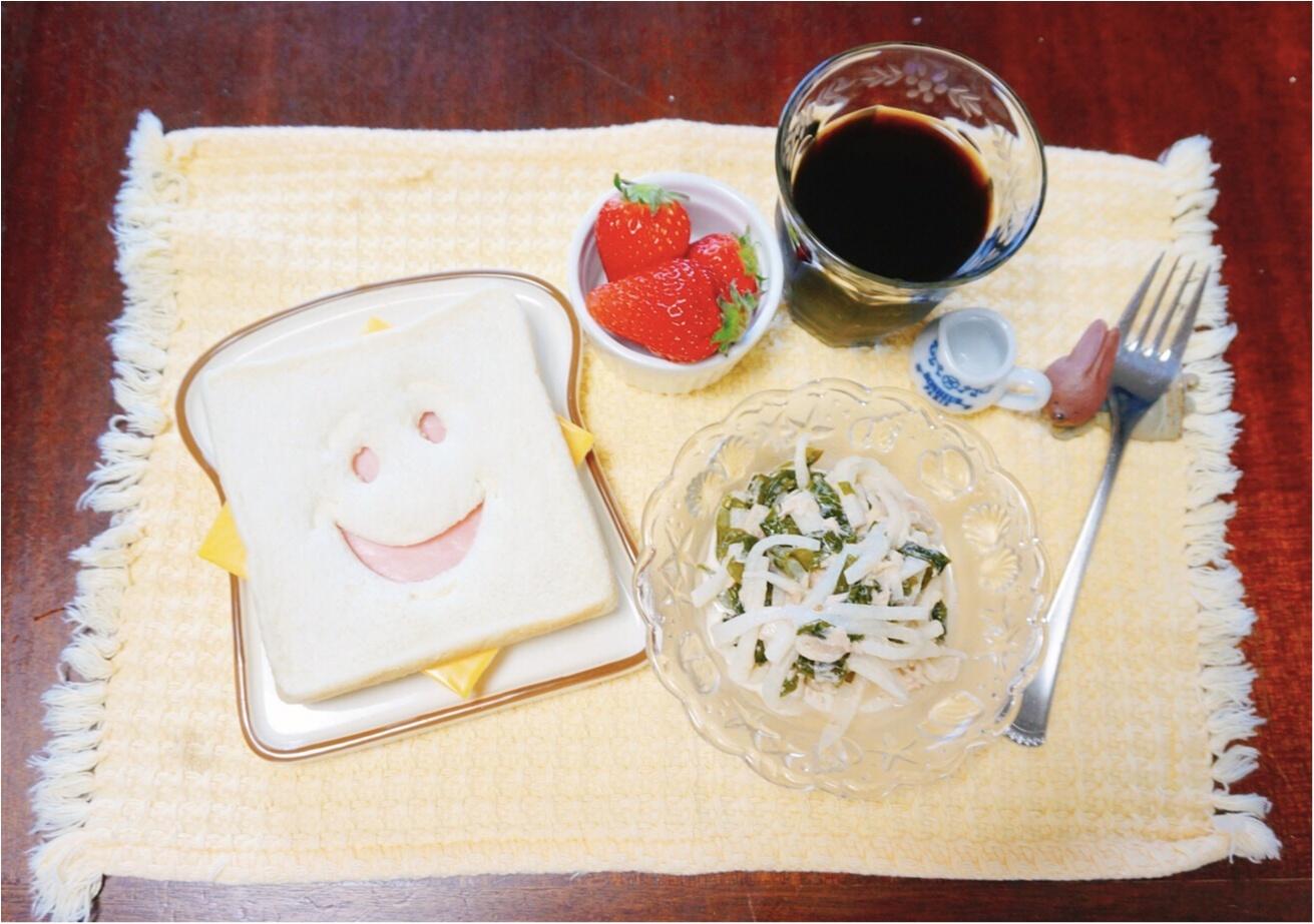 《朝からほっこり♡》SNSで話題の『ブレッドカッター』でいつもの食卓を楽しくしちゃおう♪_1