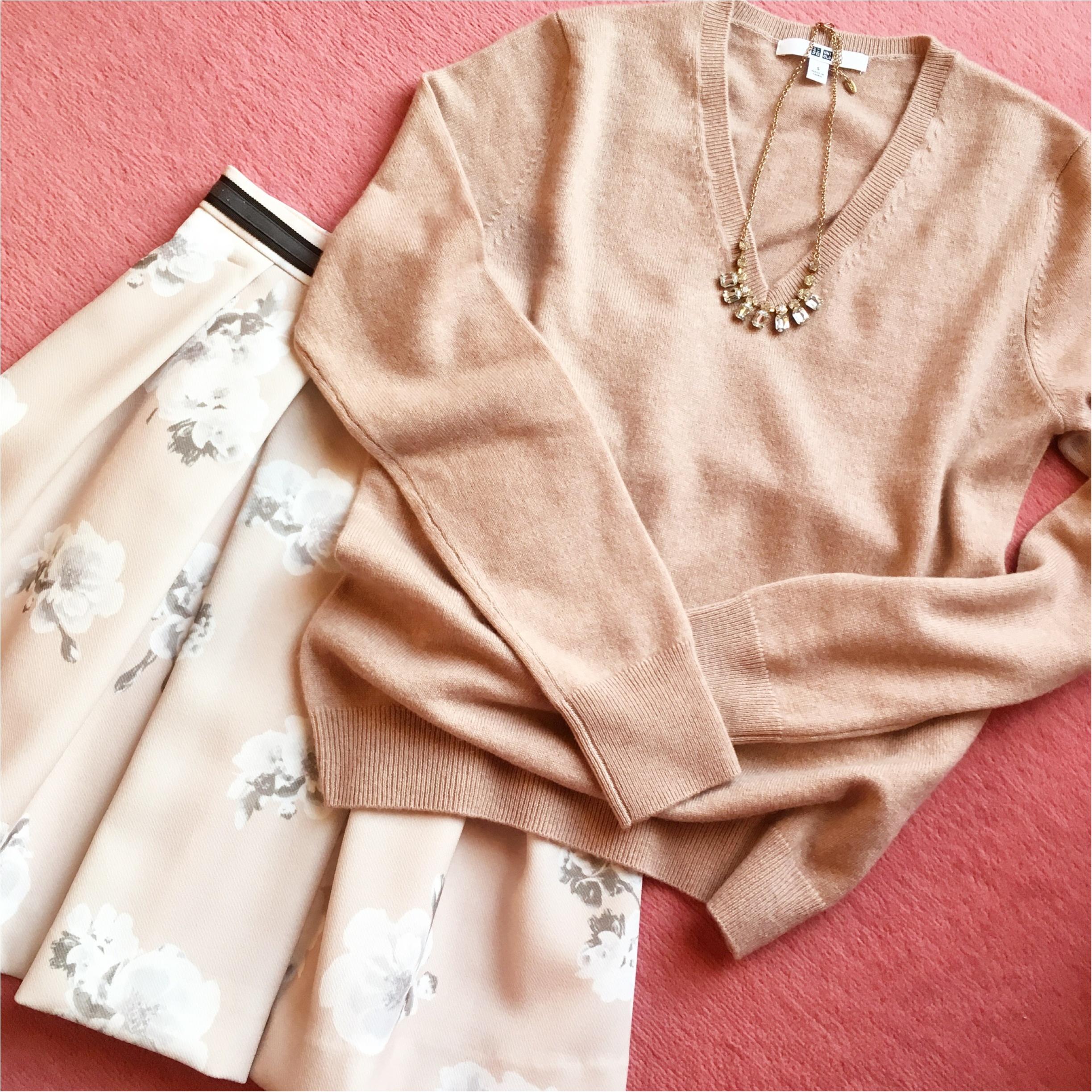 【UNIQLO】カシミヤセーターを半額でgetしちゃいました♡【セール】_3
