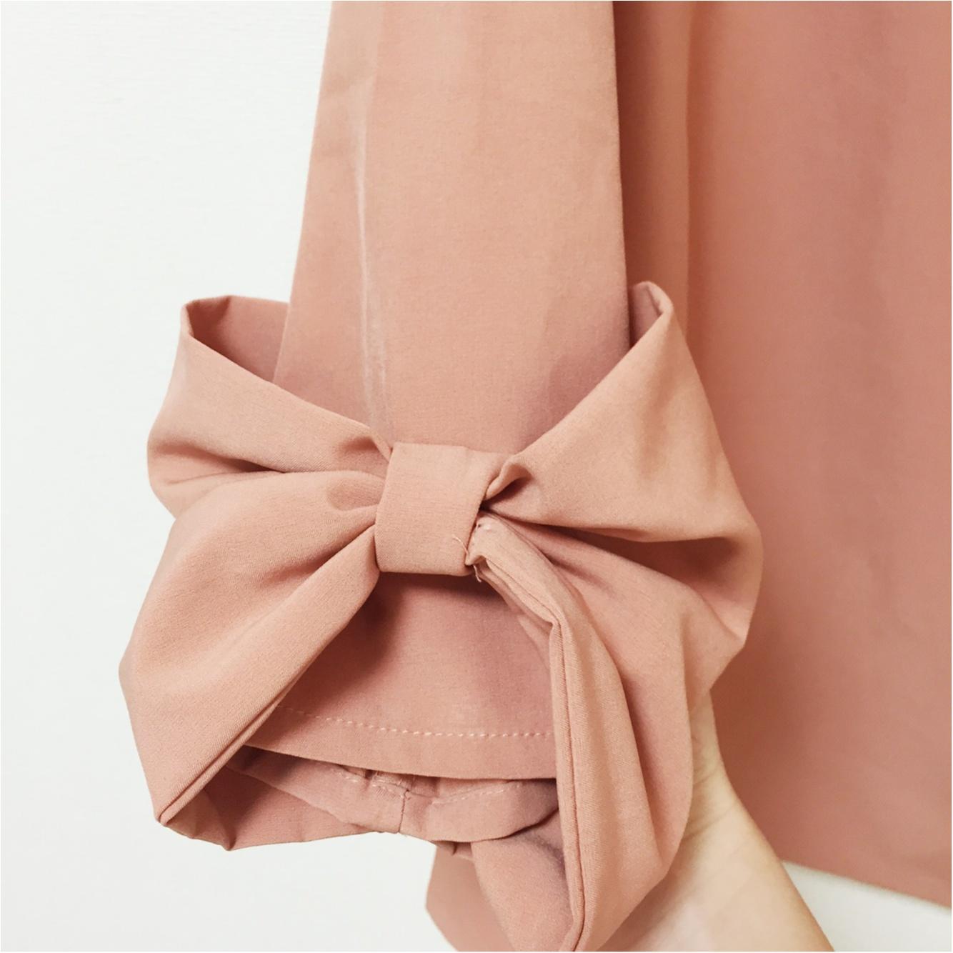 オフィスカジュアルでもリボンがやめられない…!私の『袖リボンつきトップス』コレクション♡_6