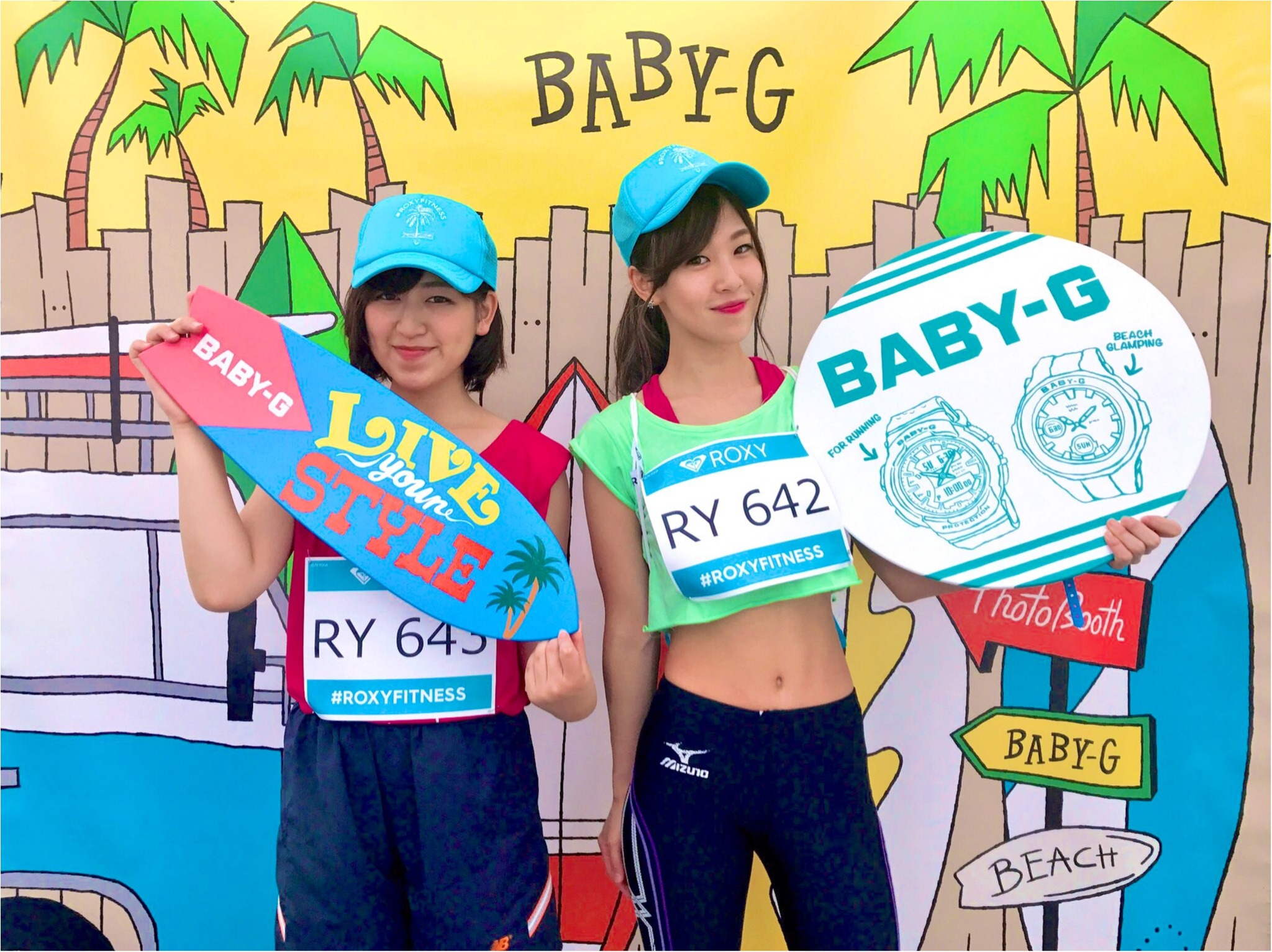 【EVENT】#ROXY FITNESS RUN SUP YOGA ★協賛ブースでお土産をGET✌︎ _4