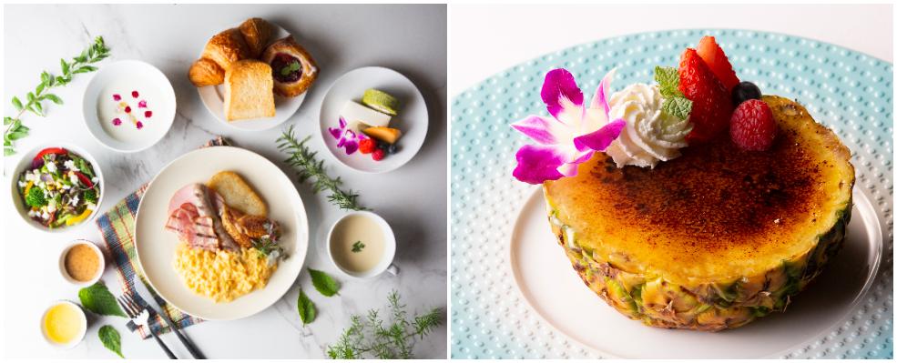 【名古屋のおしゃれホテル】『ニッコースタイル名古屋』のカフェ「Style Kitchen」。朝食の例とカフェメニューの例