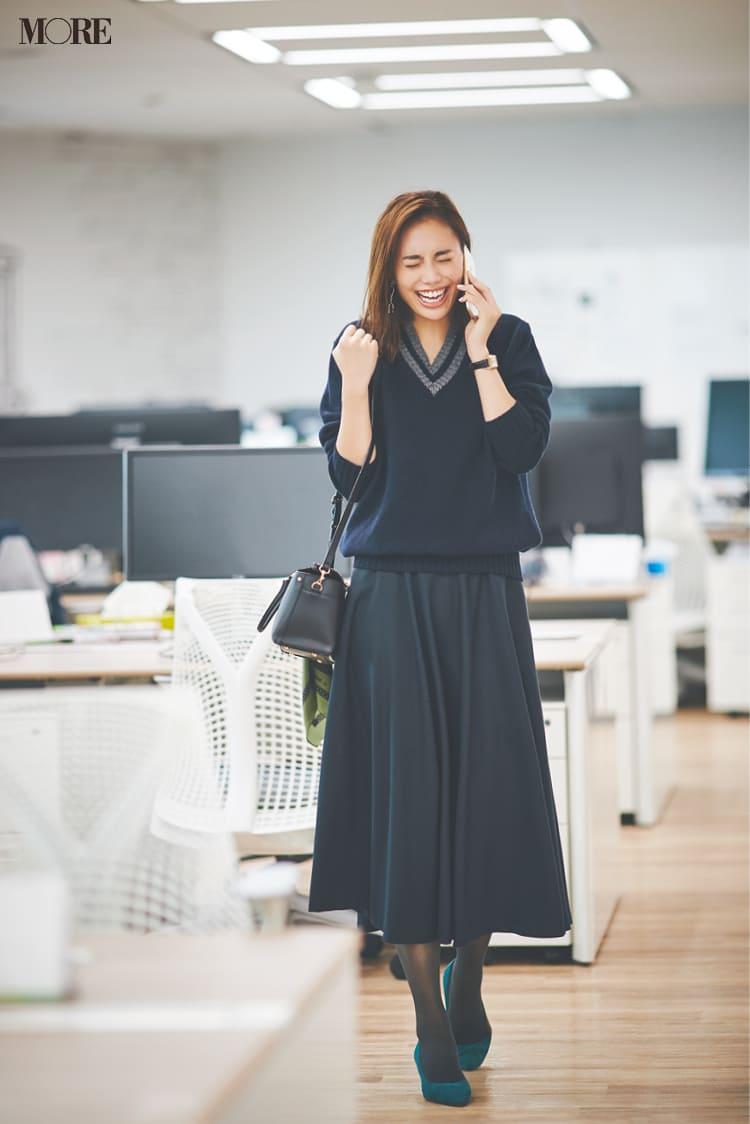 【2020】冬のオフィスカジュアル特集 - ユニクロなど20代女性におすすめの人気ブランドの最新コーデまとめ_76