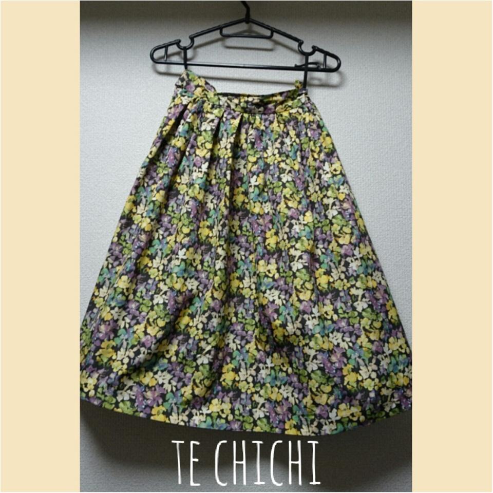 【春夏スカート♡】ロペピクニックとTechichiでgetしました( ˶ˆ꒳ˆ˵ )♡_1