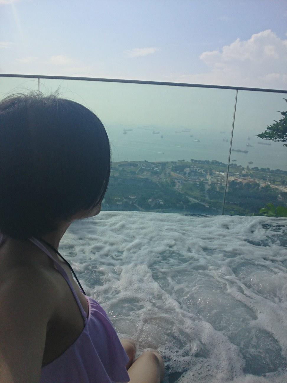 ≪海外旅行/シンガポール/宿泊編≫一度は泊まってみたいあの屋上プール付きホテル!_5
