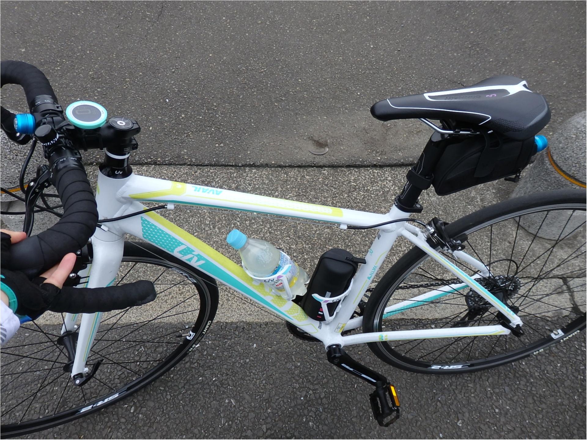 東京が小さく感じられる!ロードバイクならすいすい♪練習のお楽しみは築地で海鮮♥ #ツール・ド・東北【#モアチャレ あかね】_9