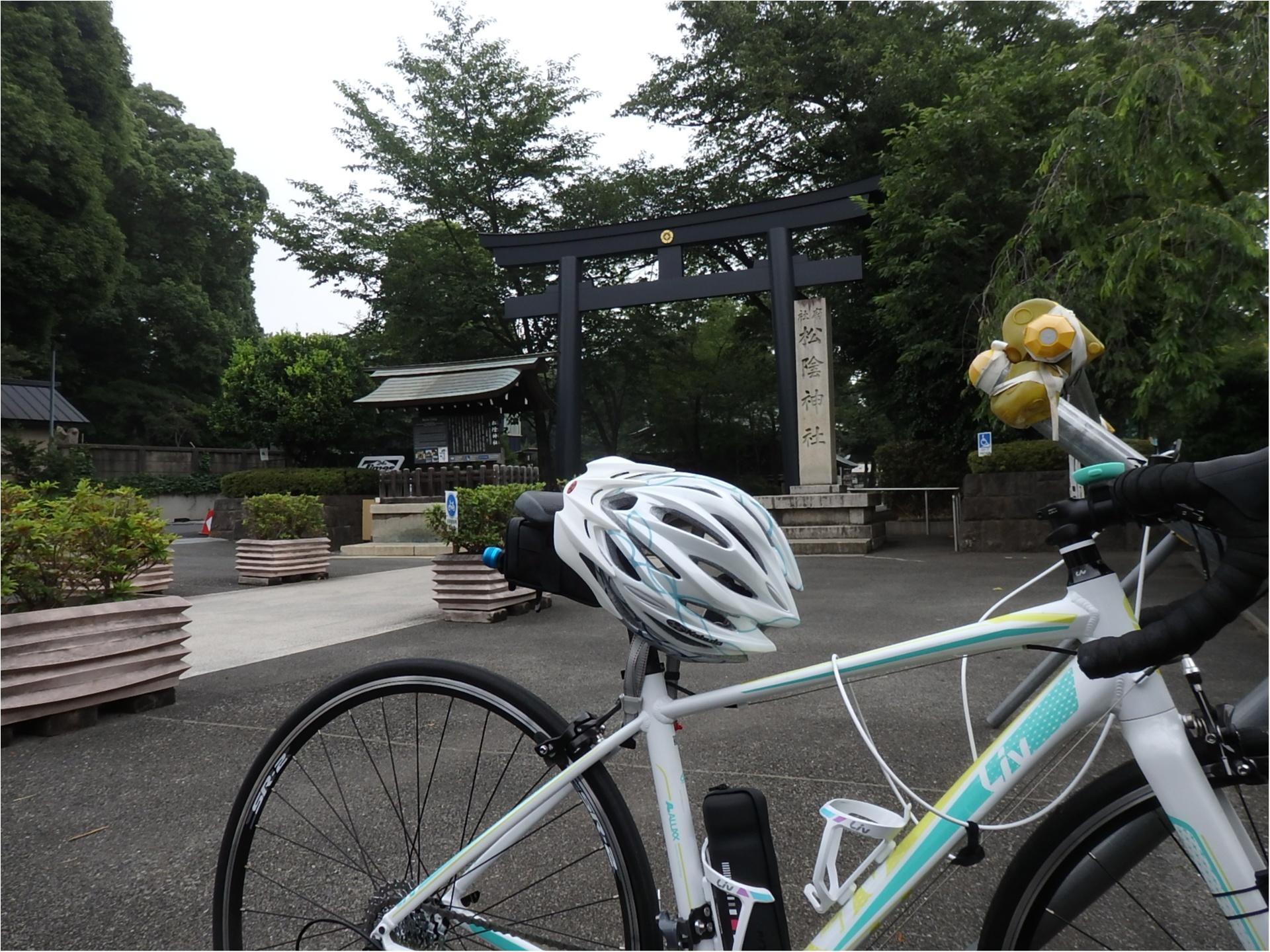 <自転車で朝活♪>1時間早く起きて、行きたかったパワースポットへ #ツール・ド・東北【#モアチャレ あかね】_1