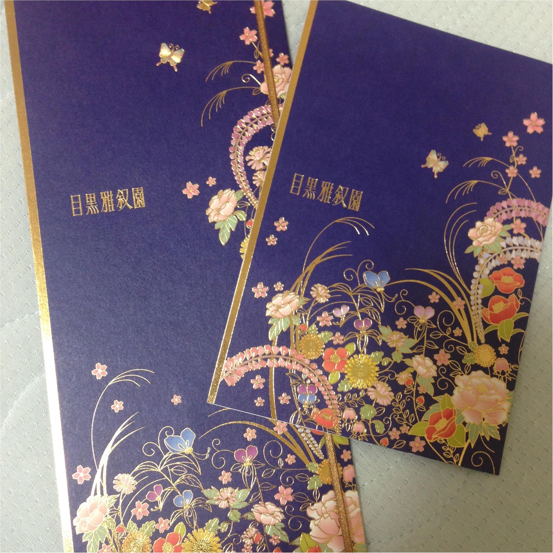 【目黒雅叙園の魅力】全身花コーデで祝う❤️友人の結婚式\(^o^)/_3