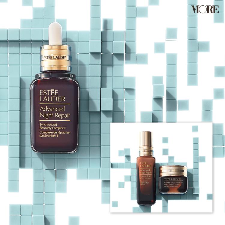 初めてのエイジングケアは『エスティ ローダー』の魔法の茶色の小瓶で! 乾燥などのダメージから肌を守り、うるおいを与えるベストセラー美容液!!_1