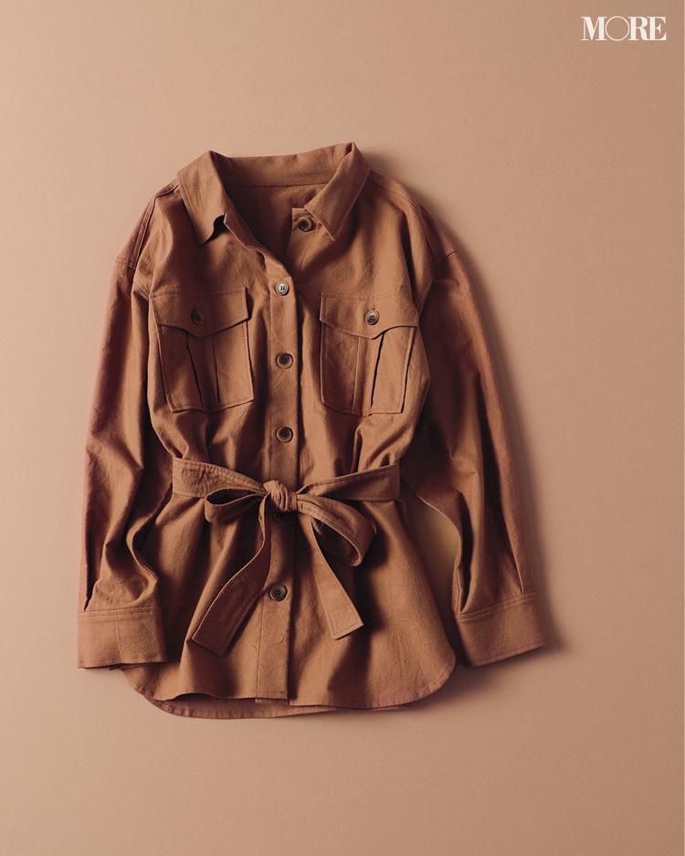 『ZARA』もラインアップ! トレンドど真ん中のシャツジャケットはこの6ブランドから選んでみて!_4