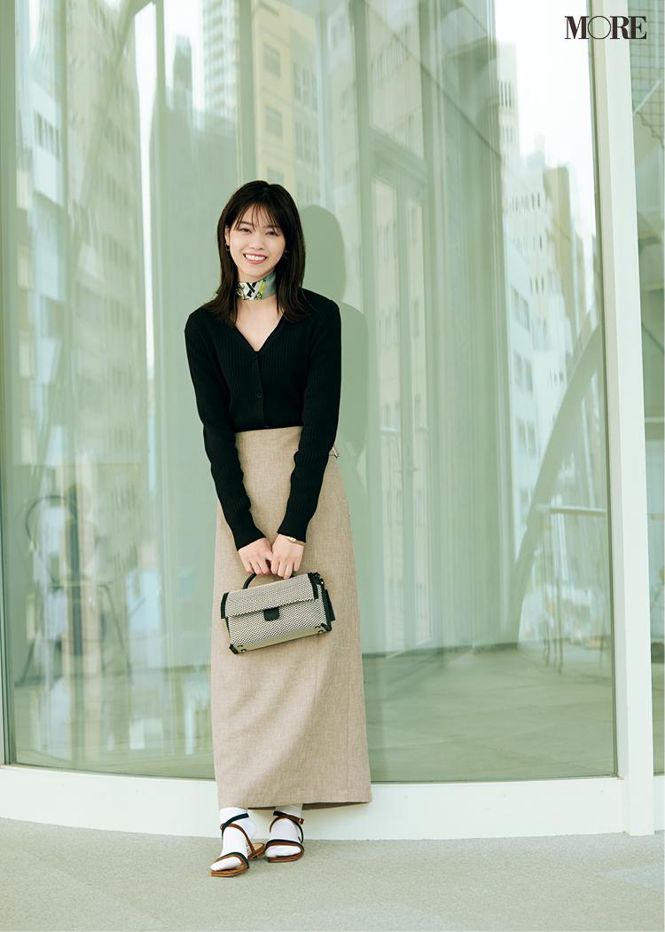 西野七瀬が私の職場にやってきた‼︎  オフィスコーデを着こなす彼女をこっそり覗き見♡_6
