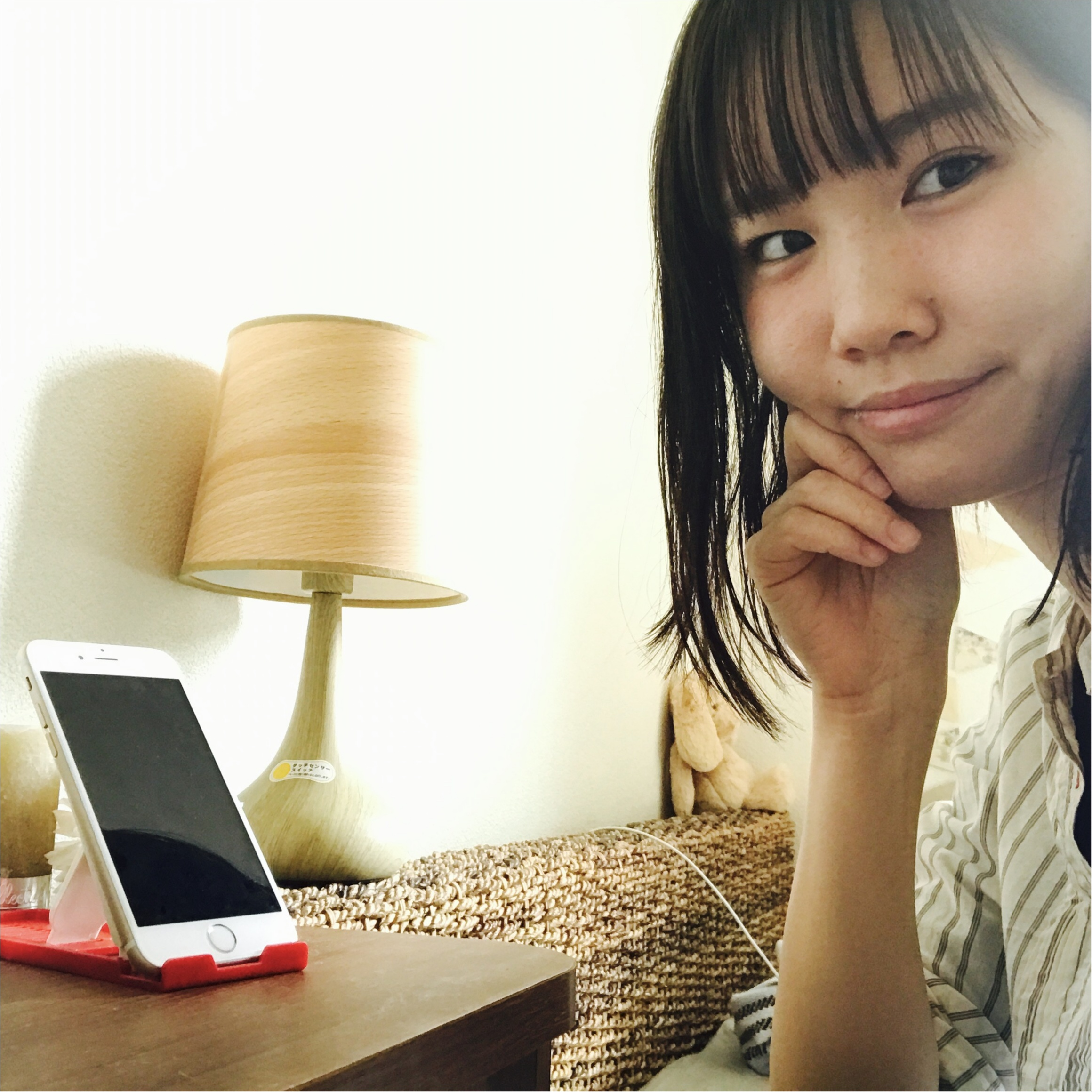 …ஐ 【MORE6月号】キュートすぎる桐谷美玲ちゃんの表紙が目印! 可愛すぎて、日常使いな特別付録のスヌーピースマートフォン用スタンド&ふかふかポーチを見逃すな〜♪ஐ¨_2