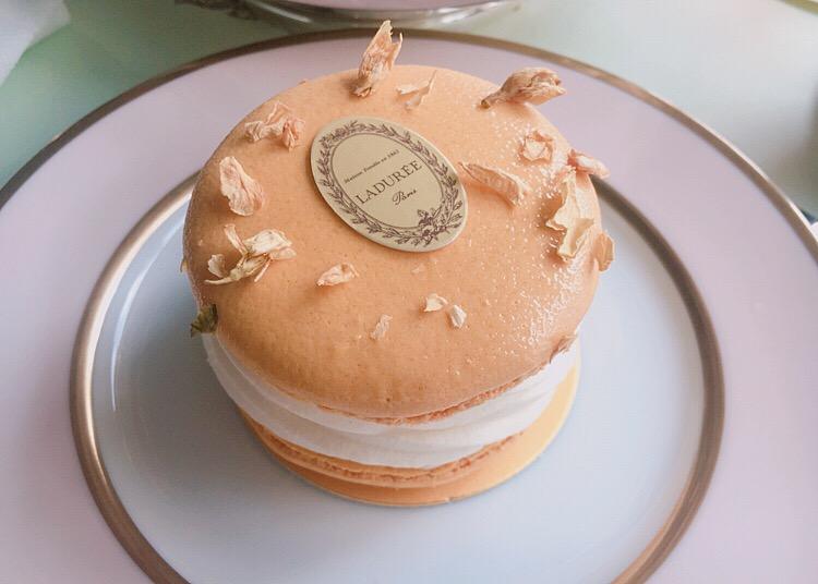 【期間限定】ポンパドゥール夫人と優雅な午後を♡LADUREEのアフタヌーンティー@銀座_8