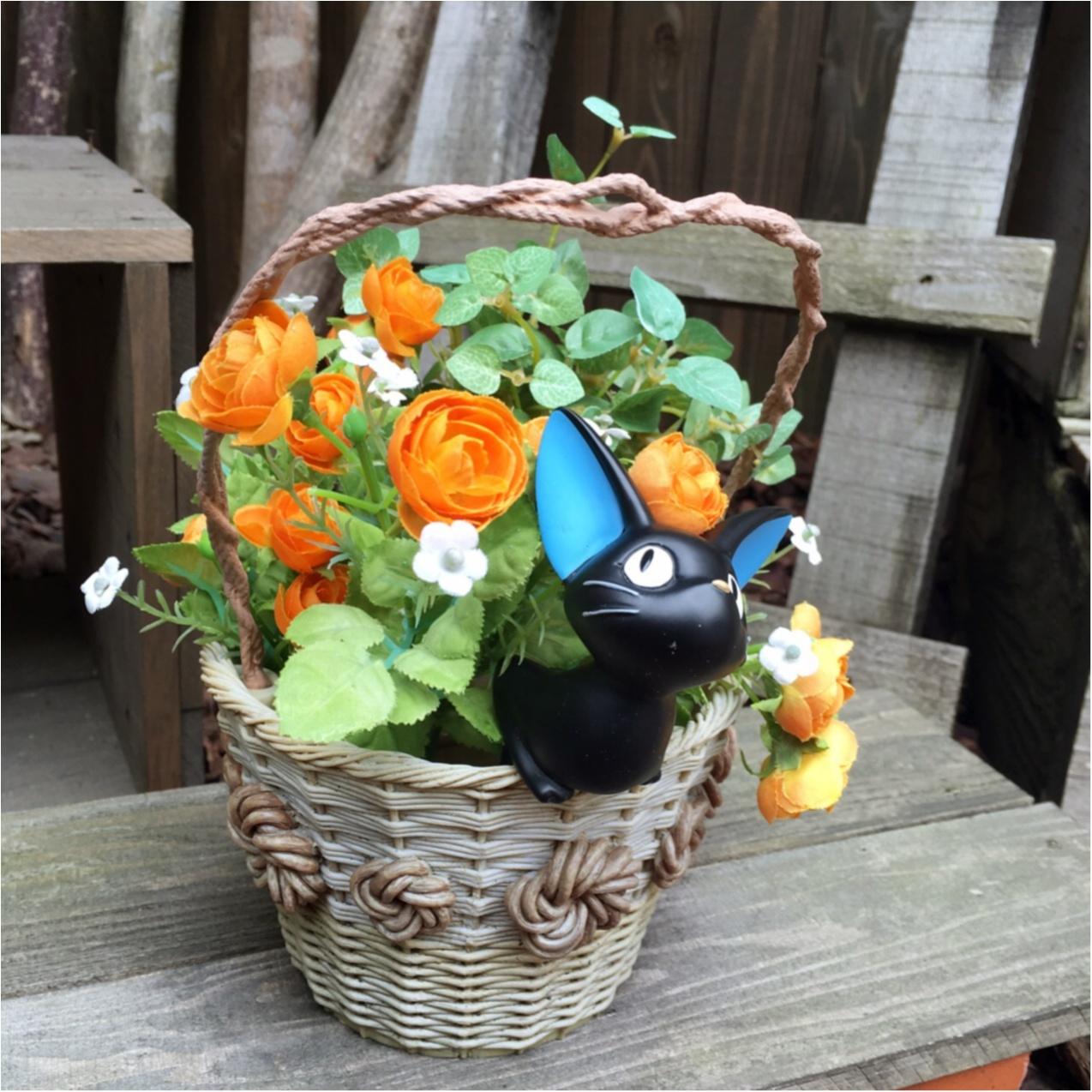かわいいジブリの世界とお花に癒される…♡_2