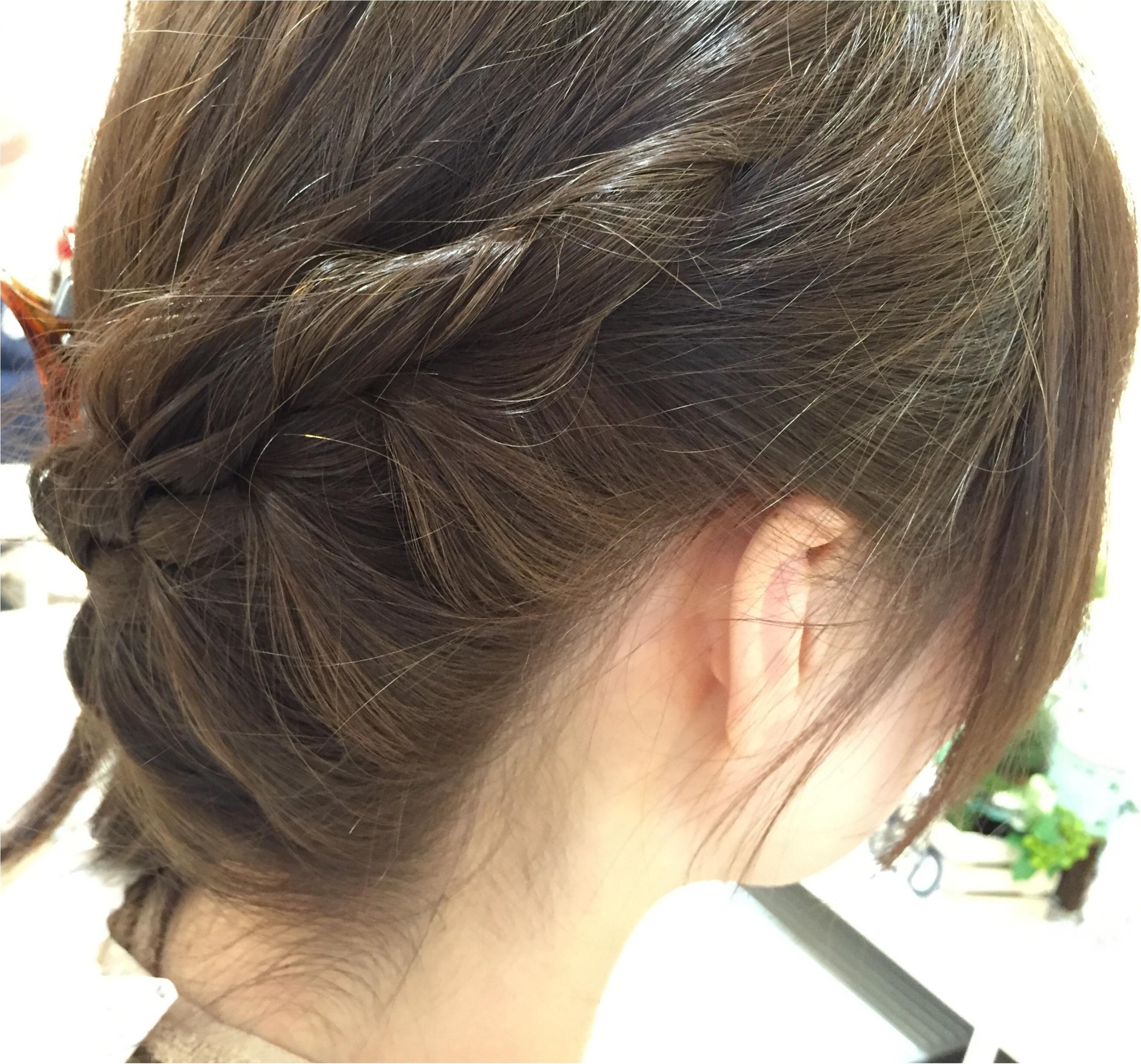 ヘアアレンジに差をつけよう!夏のまとめ髪にオススメのハイライト☆_2