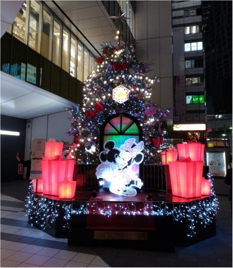 【クリスマスまであと2日!】クリスマスツリーでカウントダウン☆ ミッキー&ミニーがクリスマスデート♡ディズニーツリー@渋谷ヒカリエ_1