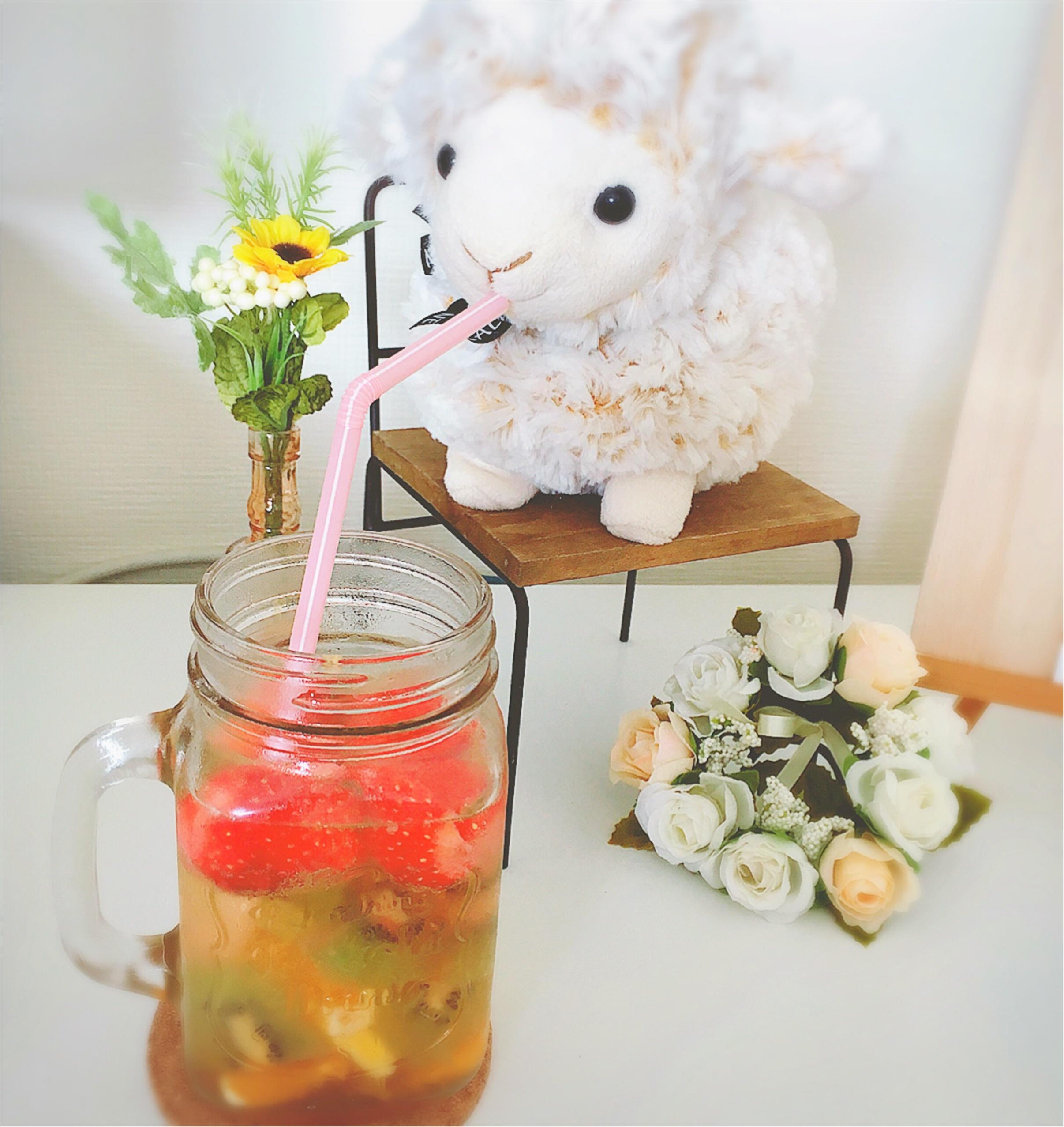 【Q♡cafe】毎日飲みたい!手作り《フルーツビネガー》なら美味しくキレイになれるかも❤️✨_5