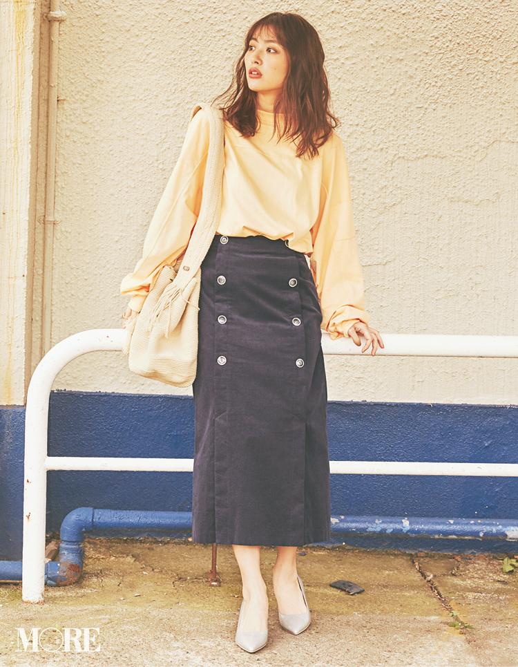 2月にスエードやツイードなど【重ため素材のスカート】を選ぶと春も得するってウワサ!_1_6