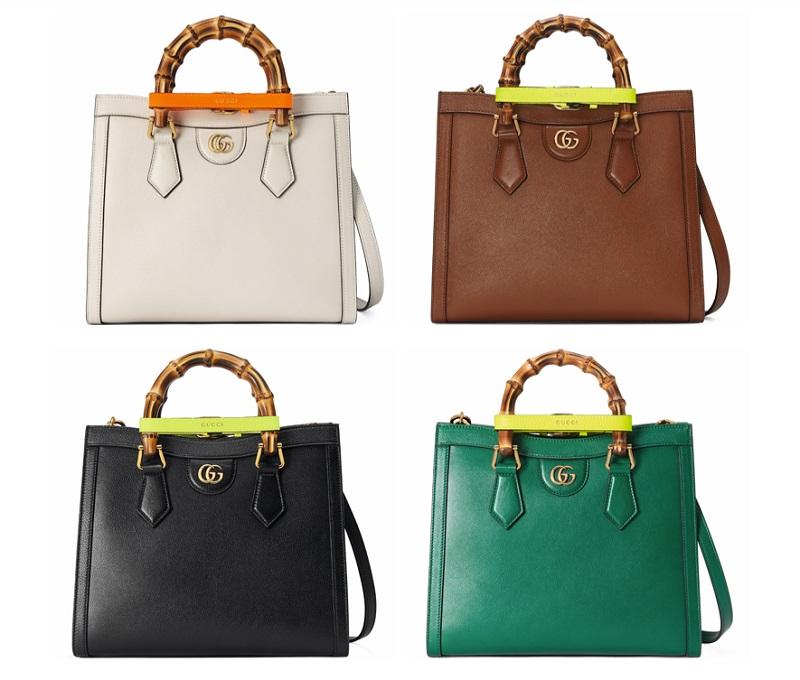 グッチの新作バッグ「グッチダイアナ」スモールサイズの4点
