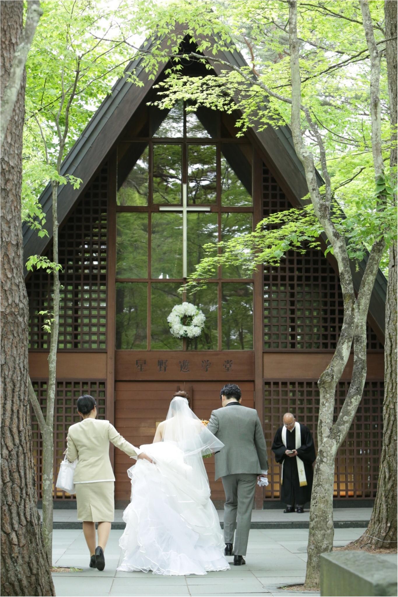 軽井沢高原教会で結婚式をあげる花嫁は幸せ者です。(軽井沢Weddingレポ①)_3