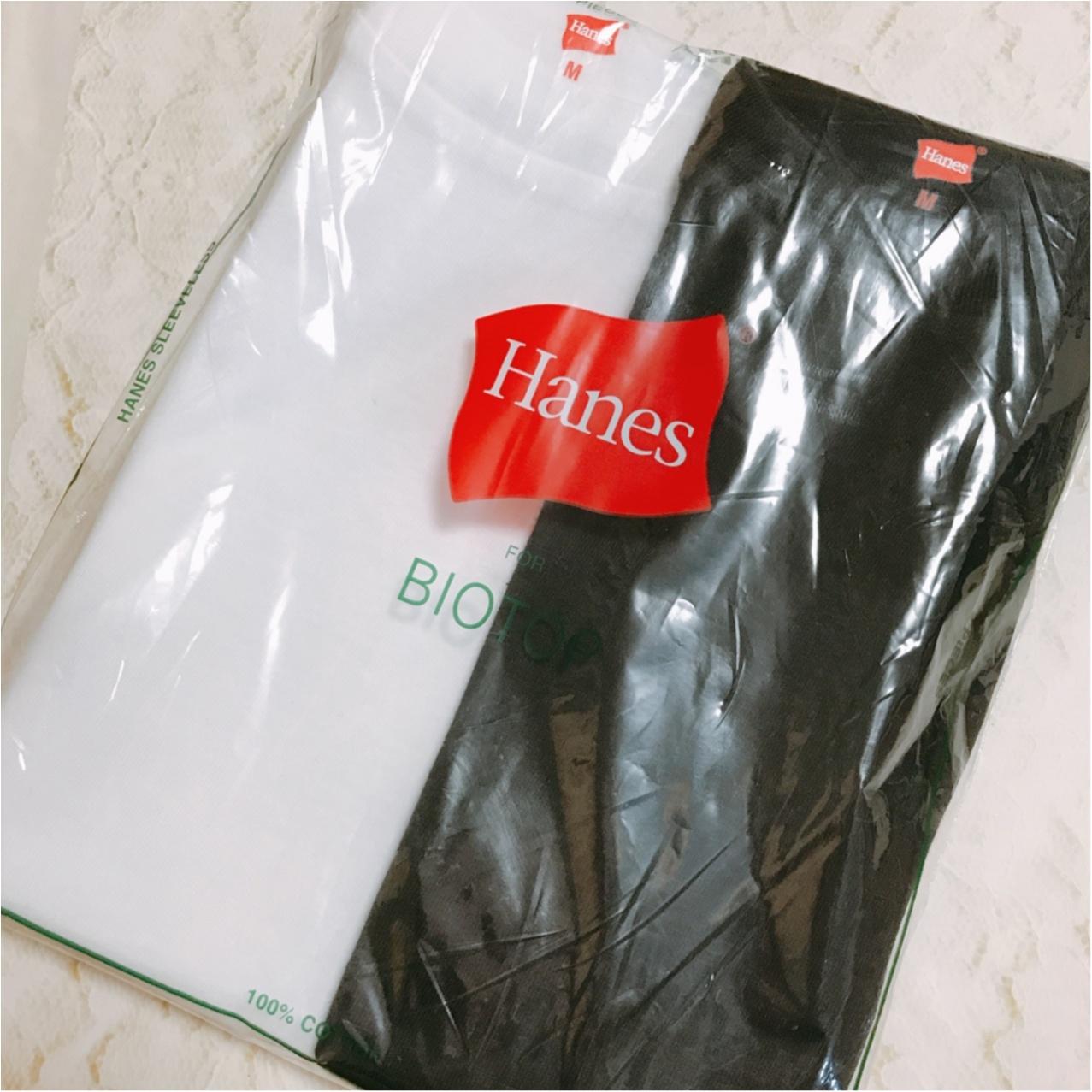 ヘビロテ間違いなし!《Hanes(ヘインズ)》ノースリーブTシャツが超優秀♡_1